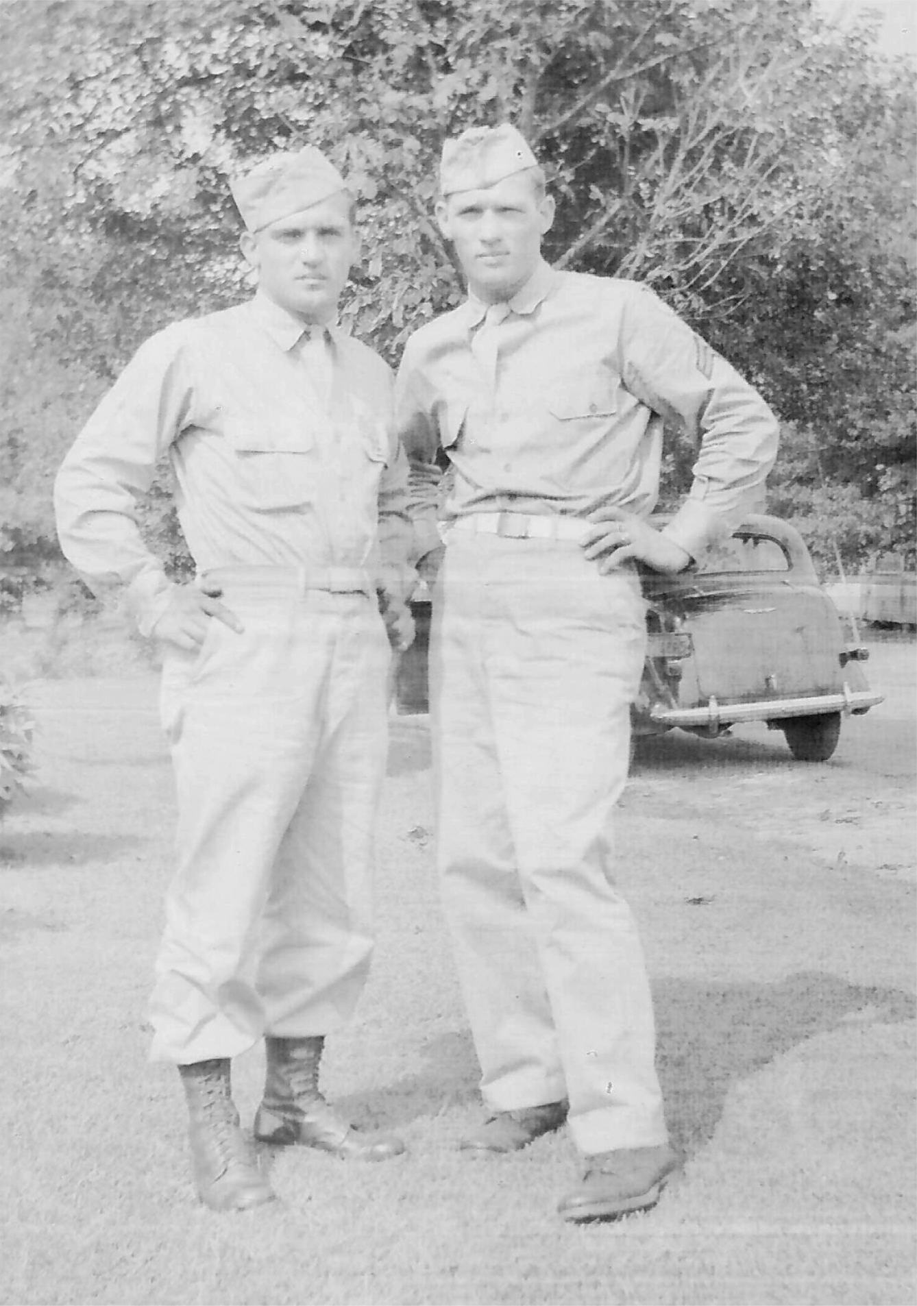 Frank and John Gabersek 1943